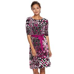 Women's Dana Buchman Scoopneck Dress