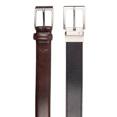 Men's Dockers Belts Boxed Set