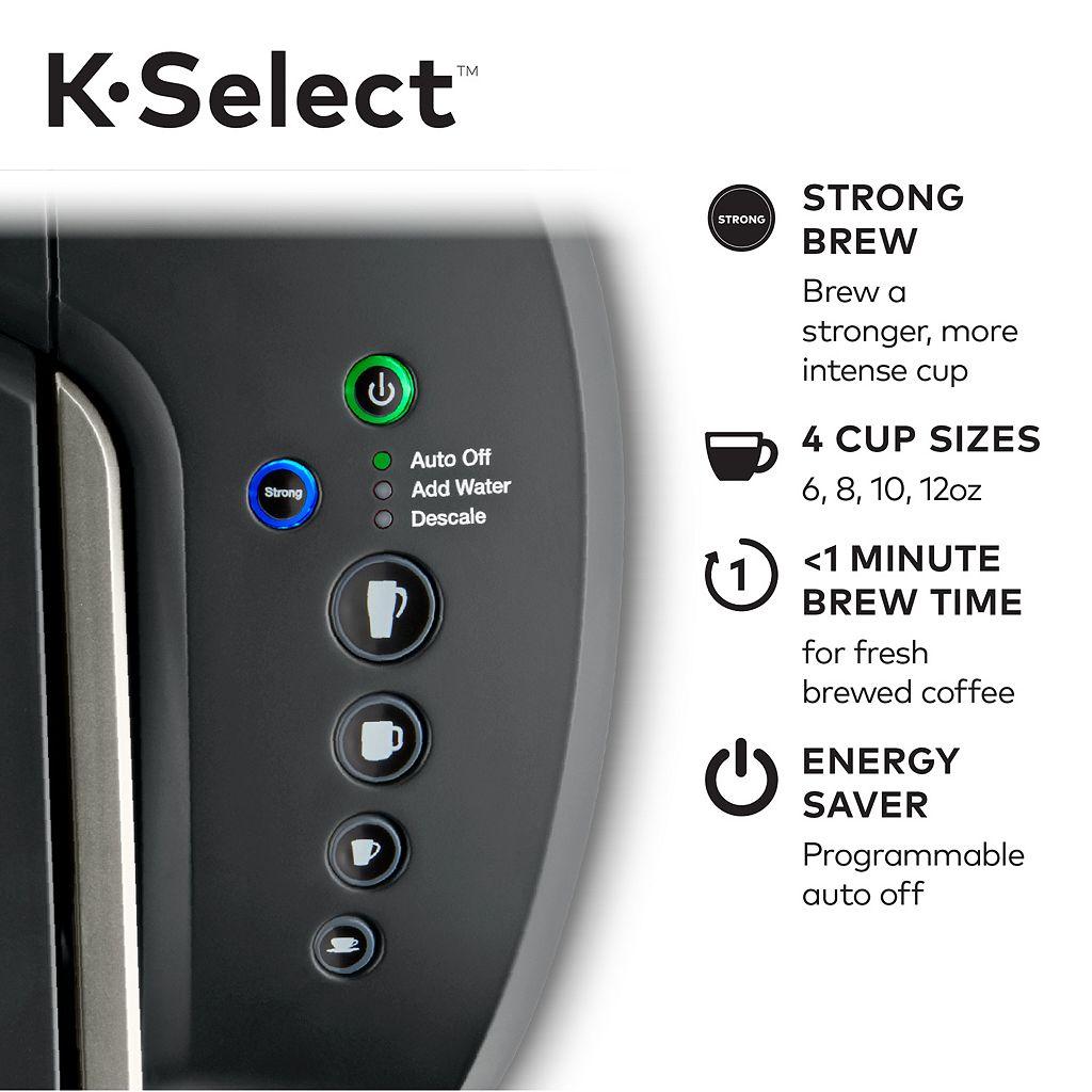 Keurig® K-Select™ Single-Serve K-Cup Pod® Coffee Maker