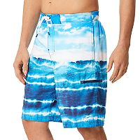 Men's Speedo Wave Cycle E-Board Swim Trunks