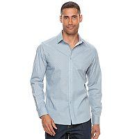 Big & Tall Apt. 9® Premier Flex Modern-Fit Stretch Button-Down Shirt