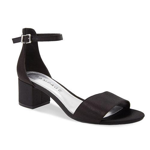 Rampage Glyterzz Women's High Heel Dress Sandals