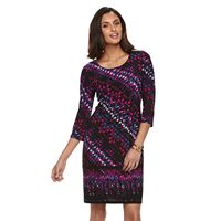 Women's Dana Buchman Scoopneck Shift Dress