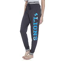 Women's Concepts Sport Detroit Lions Bolt Jogger Pants