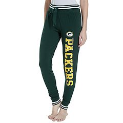 Women's Concepts Sport Green Bay Packers Bolt Jogger Pants