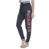 Women's Concepts Sport New York Giants Bolt Jogger Pants