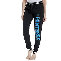 Women's Concepts Sport Carolina Panthers Bolt Jogger Pants