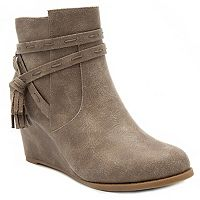 Rampage Harumi Women's Wedge Ankle Boots