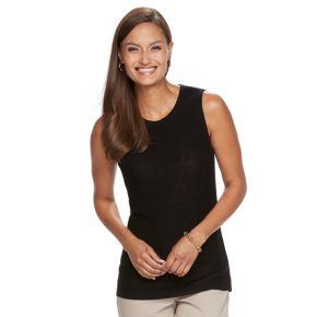 Women's Dana Buchman Sleeveless Sweater