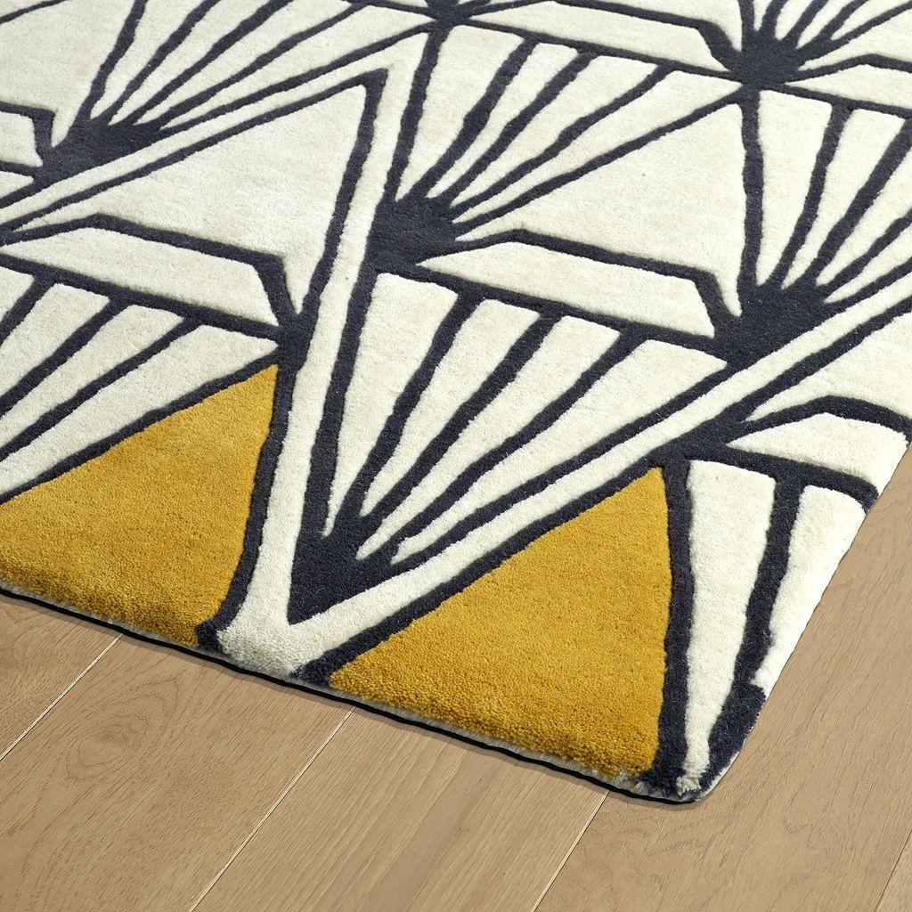 Kaleen Origami Harlow Geometric Wool Rug