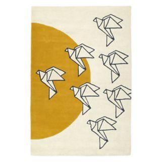 Kaleen Origami Harper Geometric Wool Rug