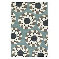 Kaleen Origami Highwire Geometric Wool Rug