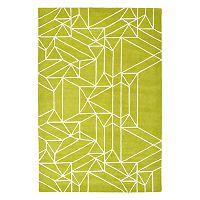 Kaleen Origami Harley Geometric Wool Rug