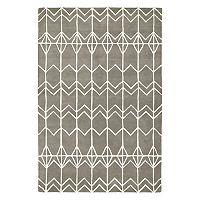 Kaleen Origami Haze Geometric Wool Rug