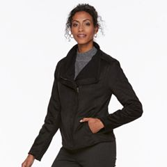 Women's Chaps Faux-Suede Jacket