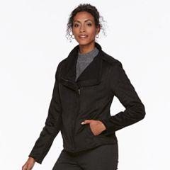 Women's Chaps Faux-Suede Jacket