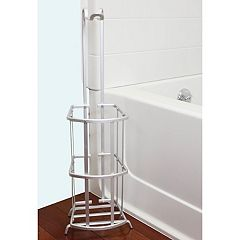 Home Basics Aluminum Tissue Roll Holder