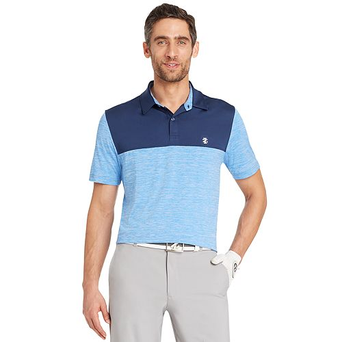Men's IZOD Tee Time Classic-Fit Colorblock Performance Golf Polo