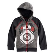 Boys 4-7x Star Wars a Collection for Kohl's BB-8 Sherpa-Lined Zipper Hoodie