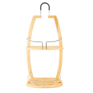 Home Basics Bamboo Bath Caddy