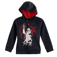 Boys 4-7x Star Wars a Collection for Kohl's Star Wars Episode VIII: The Last Jedi Glow-in-the-Dark Stormtrooper Officer Zipper Hoodie