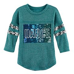 Girls 7-16 Miss Chievous Sequin Applique Fleece-Lined Top