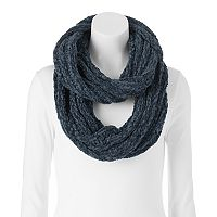 LC Lauren Conrad Solid Chenille Infinity Scarf