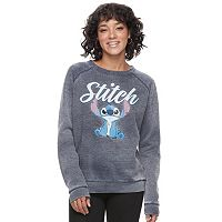 Disney's Lilo & Stitch Juniors' Burnout Graphic Sweatshirt