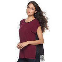 Women's Apt. 9® Lace Back Top