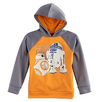 Boys 4-7x Star Wars a Collection for Kohl's Star Wars Episode VII: The Force Awakens Glow-in-the-Dark R2-D2 & BB-8 Hoodie