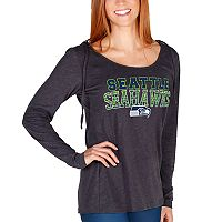 Women's Seattle Seahawks Showpiece Hooded Top