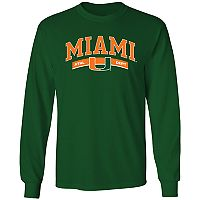 Men's Miami Hurricanes Banner Tee