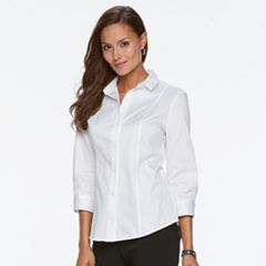 Women's Dana Buchman Button-Up Shirt