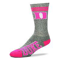 Adult For Bare Feet Duke Blue Devils Crew Socks