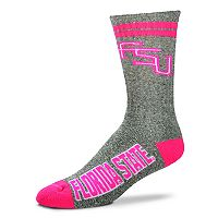 Adult For Bare Feet Florida State Seminoles Crew Socks