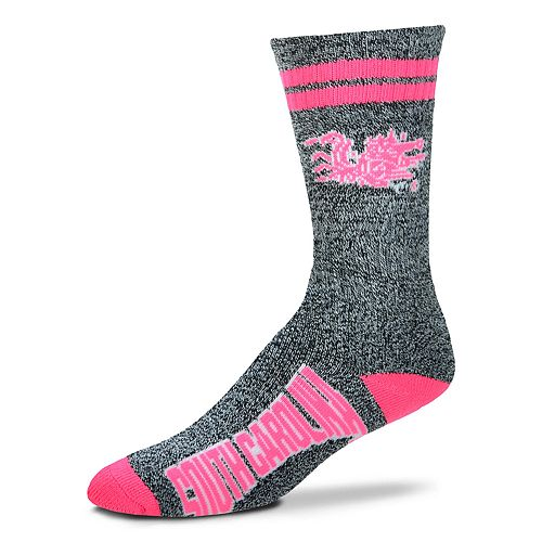 Adult For Bare Feet South Carolina Gamecocks Crew Socks