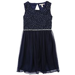 Girls 7-16 & Plus Size Speechless Glitter Lace Dress