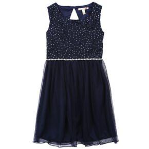 Girls 7-16 & Plus Size Speechless Glitter Lace Dress