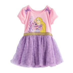 Disney's Tangled Rapunzel Toddler Girl Birthday Tulle Dress