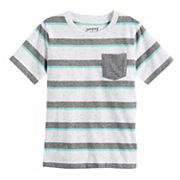 Boys 4-10 Jumping Beans® Striped Pocket Tee