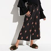 k/lab Lightning Bolt Wide-Leg Lounge Pants