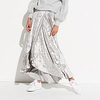 k/lab Flamenco Velvet Maxi Skirt