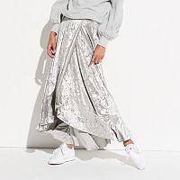 k/lab Flamenco Velvet Maxi Skirt