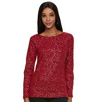 Women's Jennifer Lopez Boucle Bar Back Top