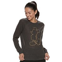 Disney's Mickey Mouse Juniors' Silhouette Sweatshirt