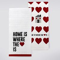 Celebrate Valentine's Day Together Home Kitchen Towel 2-pk.
