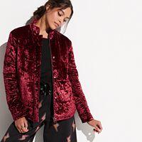 k/lab Velvet Puffer Jacket