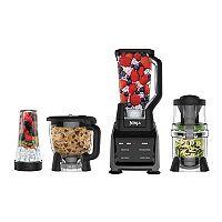 Ninja Intelli-Sense Kitchen System (Blender, Single-Serve Cup, Food Processor & Spiralizer) – CT682SP