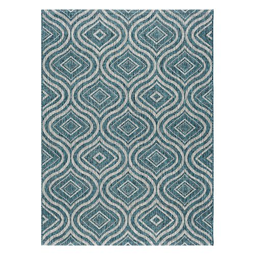 KHL Rugs Veranda Varuca Geometric Indoor Outdoor Rug