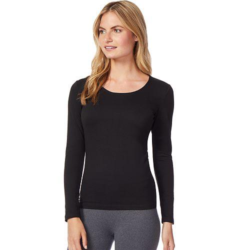 Women's Heat Keep Base Layer Scoopneck Long Sleeve Top